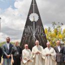 Monumento dedicado à Padroeira do Brasil abençoado na sede da CNBB