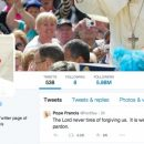 Papa supera 35 milhões de seguidores no Twitter